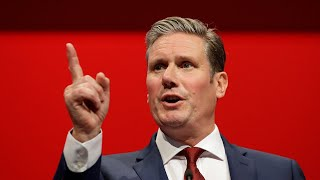 video: Sir Keir Starmer is crowned Labour's new leader as he vows to lead party through 'these difficult times'