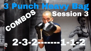 BEGINNER BOXING. HEAVY BAG COMBOS. Session 3 by NateBowerFitness