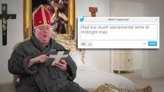 Tweets of the Rich & Famous: Pope Francis #8