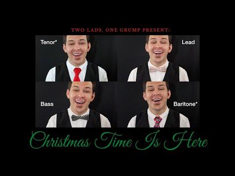 "Alex's Barbershop Quartet arrangement of ""Christmas Time Is Here"" by Vince Guaraldi"