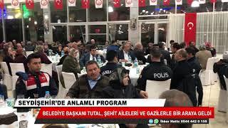 Seydişehir'de anlamlı program