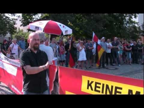 Anti-Moschee-Kundgebung in Eisenach am 27.Juli 2012