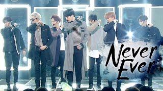 """""""Comeback Special"""" GOT7 (Never Seen) - Never Ever @ Popular Inkigayo 20170326"""