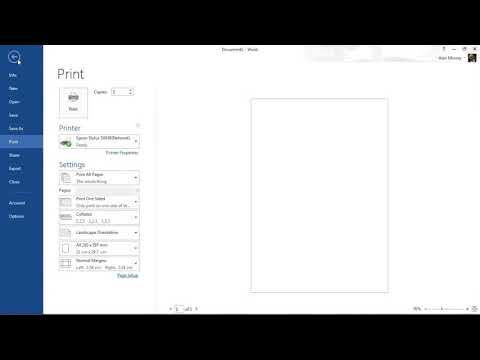 How to Create a Booklet in Microsoft Word