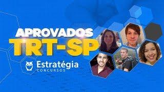 Concurso TRT 2 São Paulo: Bate papo com os Aprovados