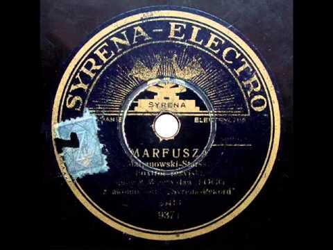 Mieczyslaw Fogg - Marfusza (Марфуша) - Foxtrot rosyjski, 1935