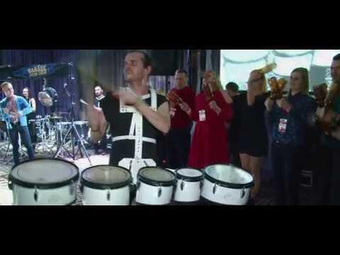 Барабанне шоу Garage Drum Show, відео 2