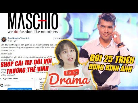 """Trương Thế Vinh vs Maschio:  Đòi 25 triệu tiền bản quyền, sao Việt đua nhau """"mỉa mai"""" - Hít Hà Drama"""