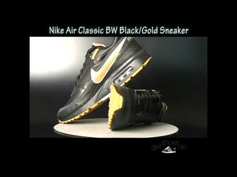 Nike Air Max Classic BW Schwarz Gold Sneaker jetzt bei www.getshoes.de