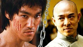 Bruce Lee Versus Jet Li! -☯Lee VS. Li   Jeet Kune Do vs. Beijing Wushu Martial Arts