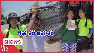 Lâm Vỹ Dạ và Hùng Thuận đại náo chợ Cai Lậy đi bán giỏ dạo, tưởng ko đắt mà đắt không tưởng