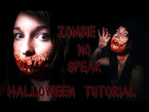 ViviShmivi | Halloween tutorial | Zombie no speak