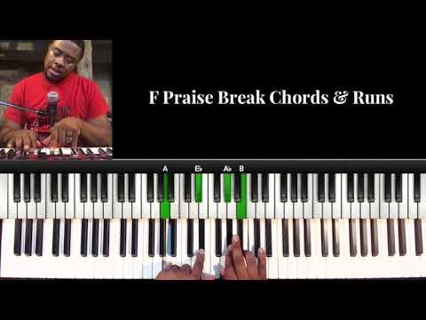 F Praise Break Chords & Runs