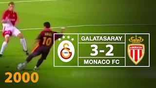 Nostalji Maçlar | Galatasaray 3 - 2 Monaco ( 12.09.2000 )