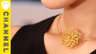花びらが折り重なった「ワイヤーチョーカー」が美しい☆|CCHANNELDIY