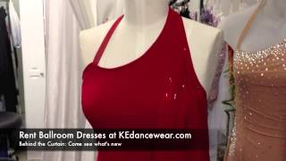 Rent Ballroom Dresses At KE Dancewear