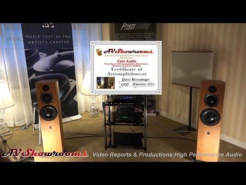 Care Audio, ATC loudspeakers, Prism Sound, Oriton Audio, Resolution Acoustics, WyWires, New York Aud