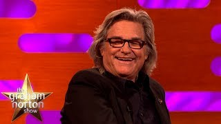 Kurt Russell Got Caught In The Act In A VERY Intimate Moment   The Graham Norton Show