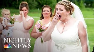 Bride Surprised At Wedding By Man Who Received Her Late Son's Heart | NBC Nightly News