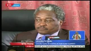 KTN Prime 13th September 2016: President Uhuru Kenyatta secures miraa deal with Somalia