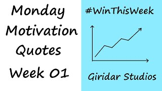 Top 10 Quotes | Monday Motivation Part - 1 | Transform Your Life | Giridar Studios