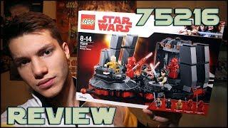 Lego Star Wars 75216 Snoke's Throne Room Review   Обзор на ЛЕГО Звёздные Войны Тронный Зал Сноука