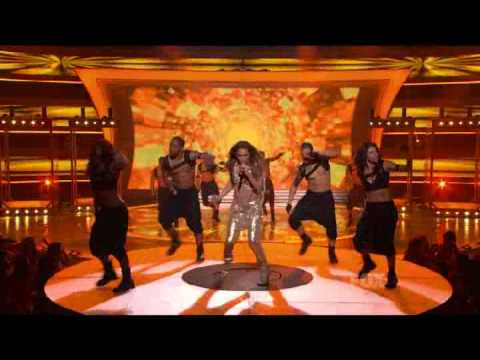 Jennifer Lopez - On The Floor (Live at American Idol 10)