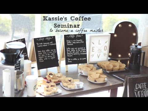 My Coffee seminar to become a Coffee master | Starbucks