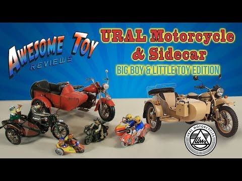 Big Boy Toy – URAL Motorcycle & Sidecar – Awesome Toy Reviews – 009