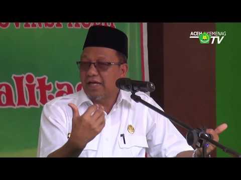 KKG MI, MGMP Mts dan MA Aceh Timur Dilantik Kakanwil