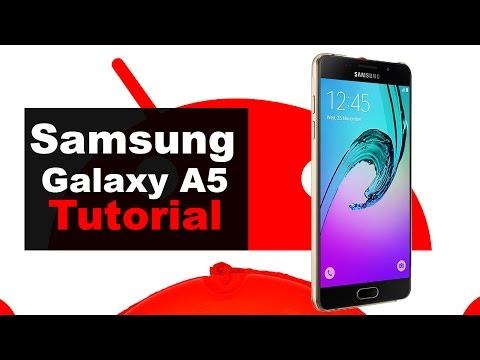 Tutorial Galaxy A5 2016: configurar y utilizar el sensor de huella dactilar