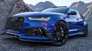 WORLD PREMIERE! 2018 735HP AUDI RS6+ NOGARO EDITION by ABT SPORTSLINE - Final version