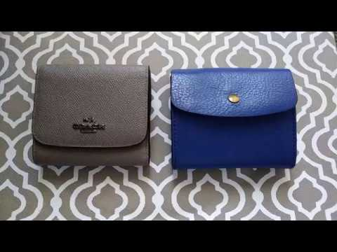 Switching wallets Fossil – Coach