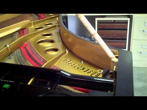 0 - Art case Bosendorfer, beautiful sounding  grand piano & Steinway key felt cover.