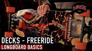 Longboard | Setup | Decks: Freeride