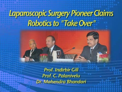 Laparoscopic Surgery Pioneer Claims Robotics to Take Over