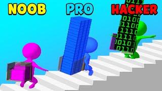 NOOB vs PRO vs HACKER - Stair Run