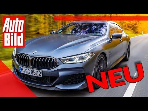 BMW M850i Gran Coupé (2019): Neuvorstellung - Fahrbericht - Infos