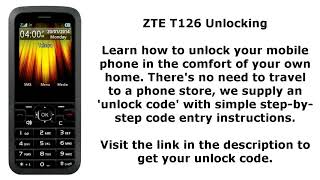 zte f320 unlock code free - Free video search site