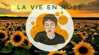 La Vie En Rose by Édith Piaf ~ Chloe Moriondo Cover (Lyric Video)