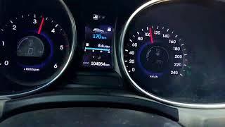 Разгон santa fe 2.2 diesel#2 180 км/ч