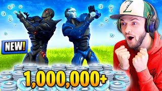*NEW* 1,000,000 V-BUCKS PRIZE in Fortnite: Battle Royale! - Video Youtube