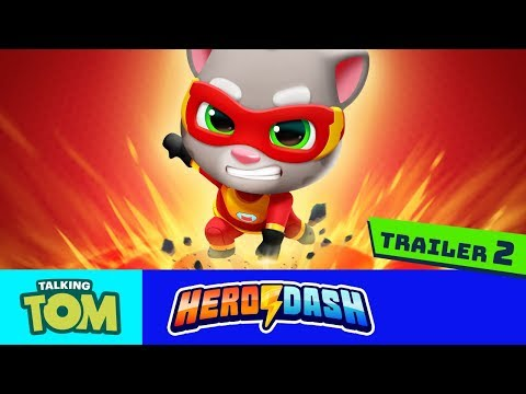 Download 🦸⚡HEROES WANTED 🦸⚡ Talking Tom Hero Dash (Official Trailer 2) HD Mp4 3GP Video and MP3