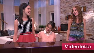 Violetta 2 English - Violetta sings \