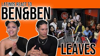 "Latinos react to Ben&Ben perform ""Leaves"" LIVE on Wish 107.5 Bus