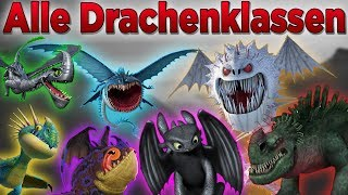 Dragons - Alle Drachenklassen | (Deutsch)
