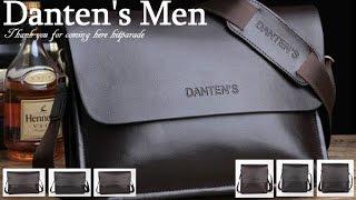Danten's Men's Bag Popular Bag In Japan/Danten's 上質ソフト レザー 使用 Danten's メンズ バッグ