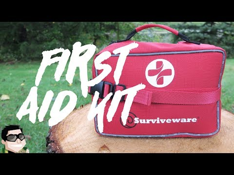 AN Item YOU NEED!! Surviveware Large First Aid Kit