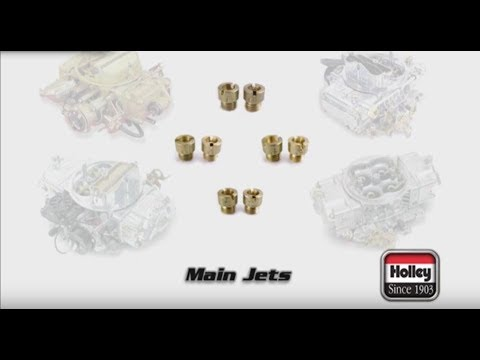 How And When To Change The Jets On A Holley Carb