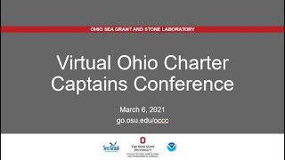 Virtual Ohio Charter Captains Conference 2021